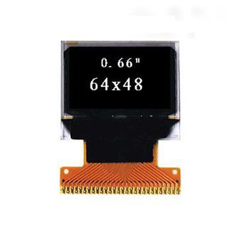 0.66'' 单色OLED显示屏
