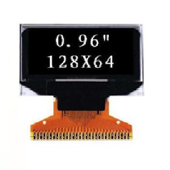 0.96'' 单色OLED显示屏