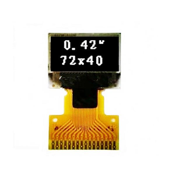 0.42'' 单色OLED显示屏