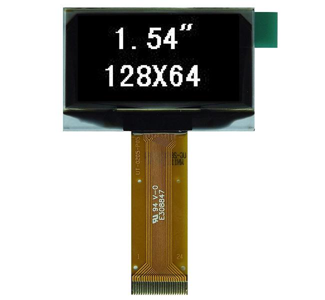 1.54''单色OLED显示屏