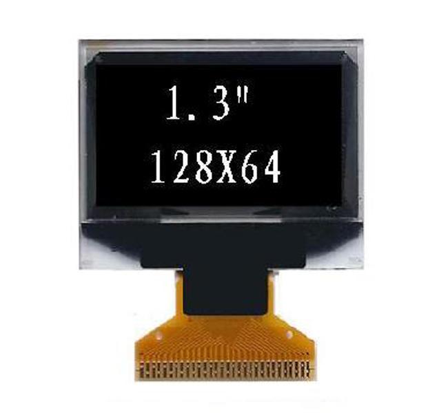 1.3'' 单色OLED显示屏
