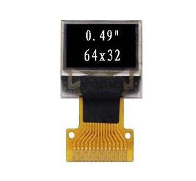 0.49''单色OLED显示屏